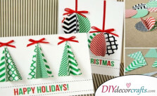 The Most Beautiful DIY Christmas Cards Ideas