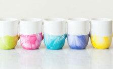 The Perfect Handmade Christmas Present: A Marble Dipped Mug
