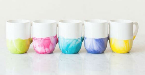 The Perfect Handmade Christmas Present: A Marble Dipped Mug