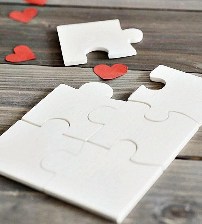 Valentine's Day Diy Gifts, valentine puzzle