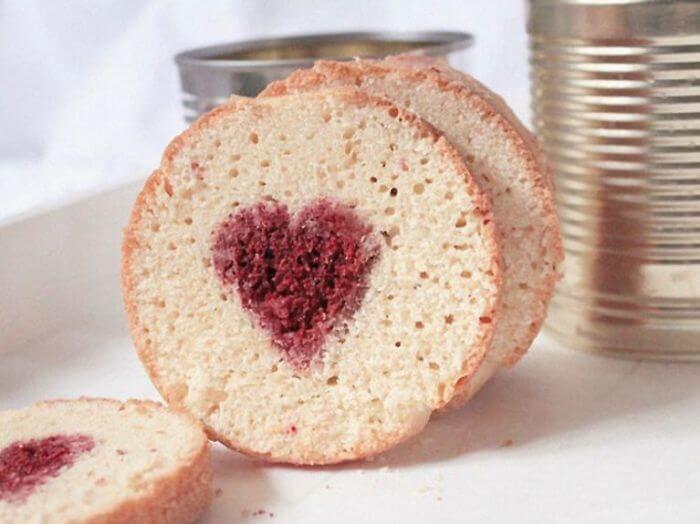 Valentine's Day Diy Gifts, heart cake