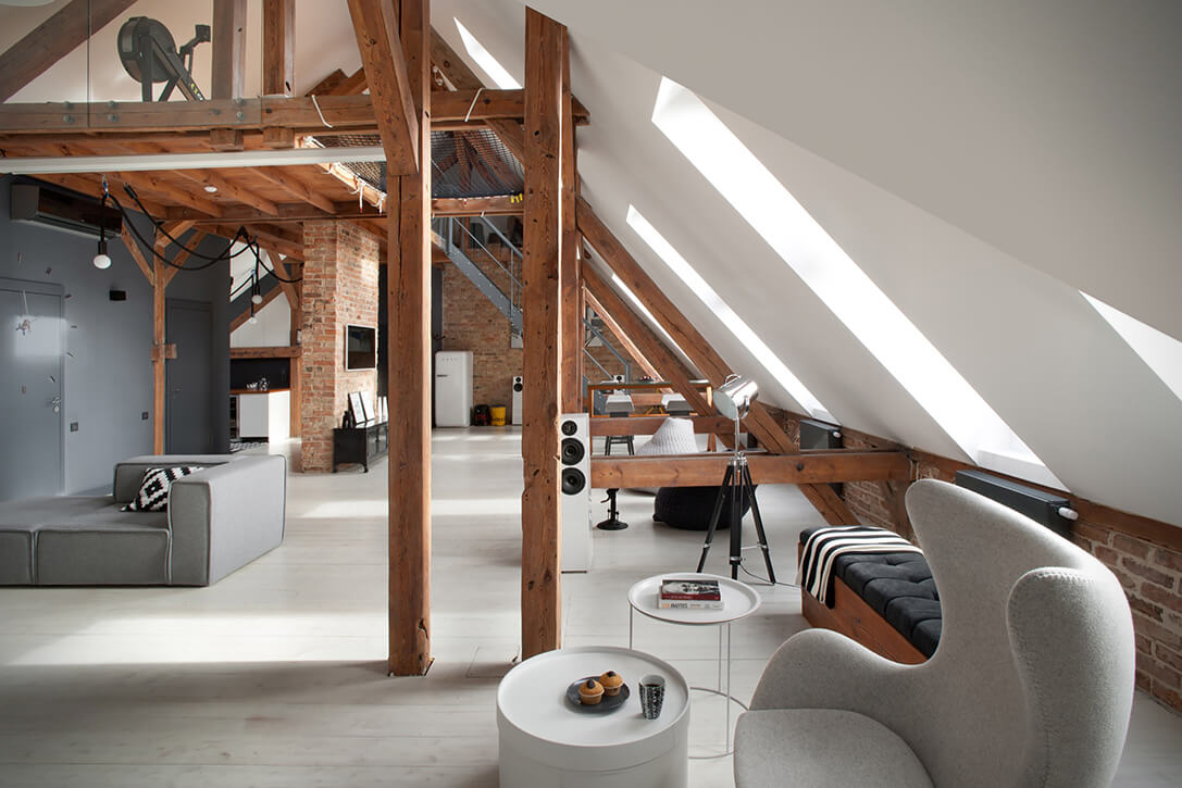 Create Your Own Luxurious Home Designs In The Attic