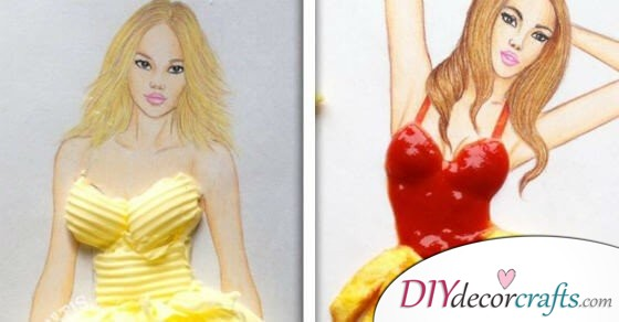 This Artist's Gorgeous Fashion Drawings Will Make You Jealous And Hungry