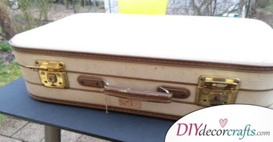 How To Turn Old Suitcases Into Something Awesome