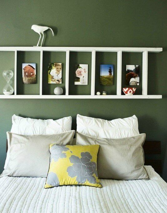 12 Fun And Easy Ideas How to Incorporate A Wooden Ladder In Your Interior