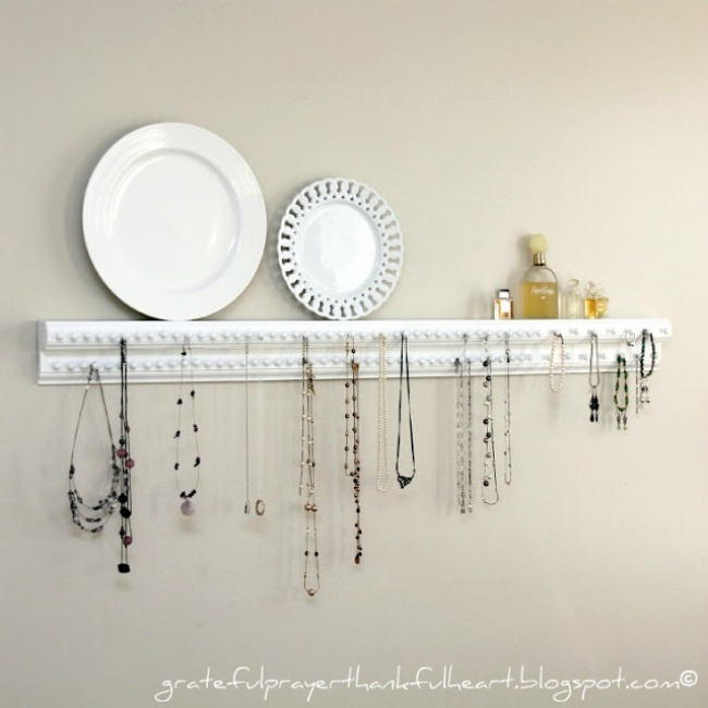 17 Awesome Jewelry Storage Ideas You Should Check Out Diy Deco Crafts Home Decor Gift Craft Ideen Deko