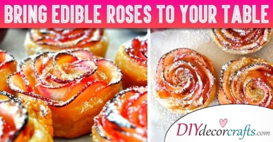 If You Love Quick Food Ideas, You Shouldn't Miss How To Make Edible Roses!