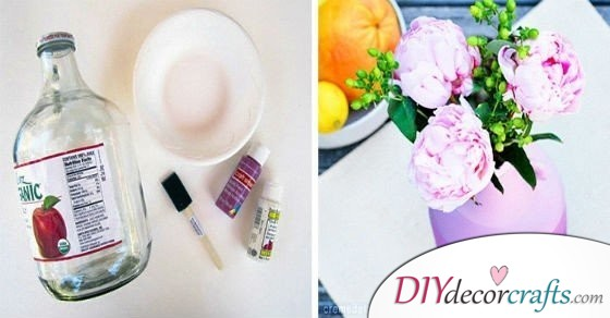 18 Superb Ideas How To Create Gorgeous DIY Flower Vases