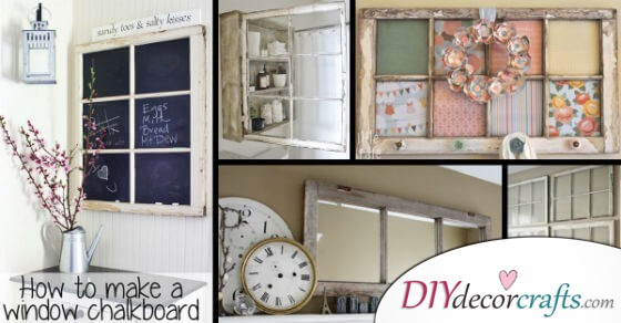 Don't Throw Away Your Old Windows, Just Discover These Vintage Decor Ideas
