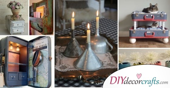 12 Easy to Make DIY Vintage Home Decor Ideas