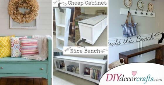 The Best Diy Woodworking Bench Plans You Should Check Out Diy Deco Crafts Home Decor Diy Gift Diy Craft Ideas Diy Ideen Deko Ideen