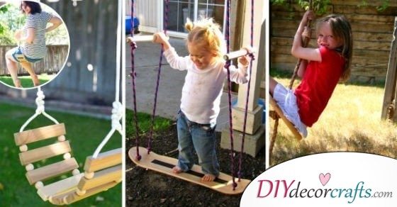 12 DIY Yard Swings You Can Bring To Life Almost Effortlessly