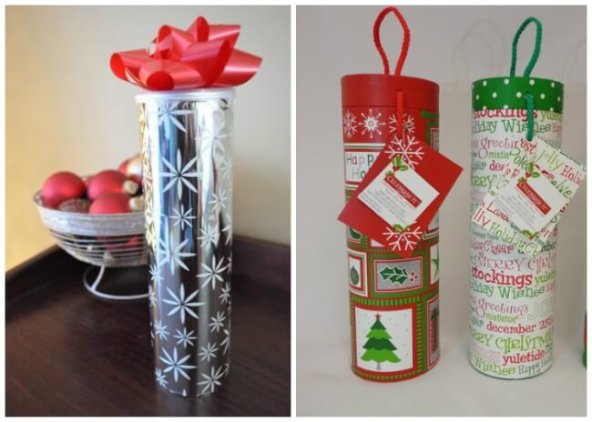 Genuinely Simple Crafts You Can Make Out Of An Old Tube For Potato Chips