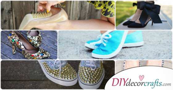 17 DIY Shoes Projects To Transform Your Boring Shoes