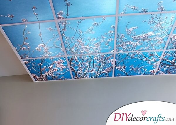 How To Use Ceiling Tiles In Your Home