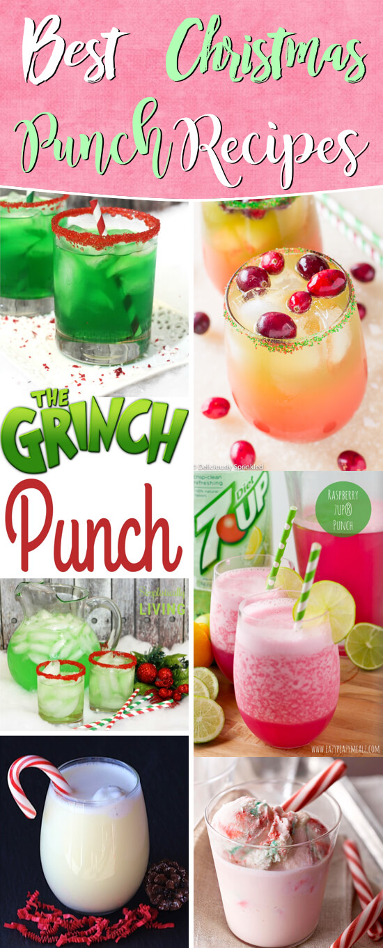 easy punch recipes for christmas