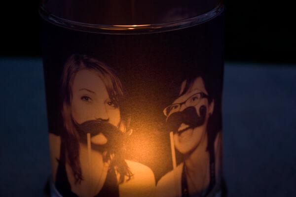 DIY Film Candle Holder, diy candle