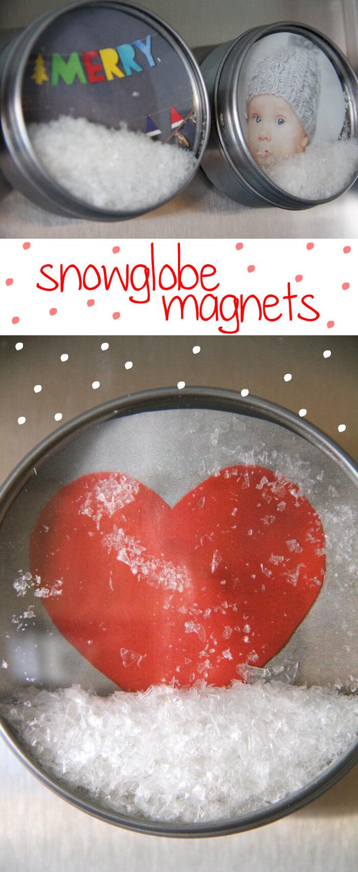 Snow Globe Magnets