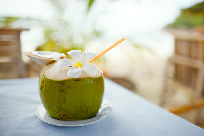 8 Drinks to Boost Metabolism and Tone Up Your Body, coconut water