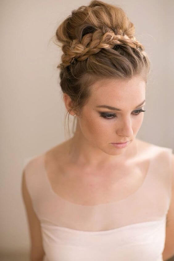Five Easy And Absolutely Adorable Braid Hairstyles to Try, Elegant Updo
