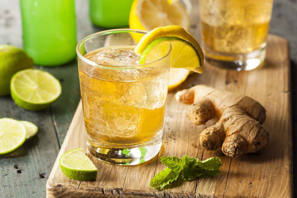 Four Great Drink Recipes For a Quick Weight Loss,Ginger lemonade