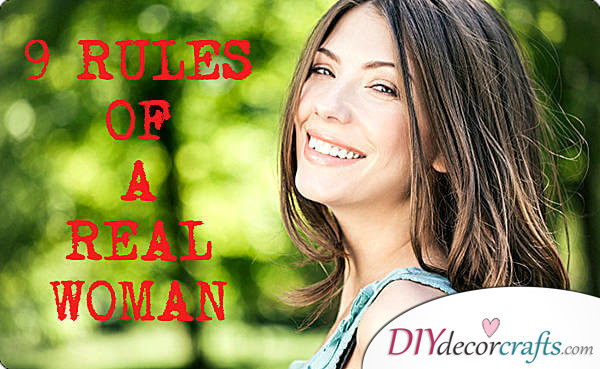 9 rules of a real woman