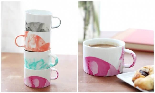 Ten Easy Ways to Design Your Own Kitchen in Less Than an Hour, diy marvel mugs