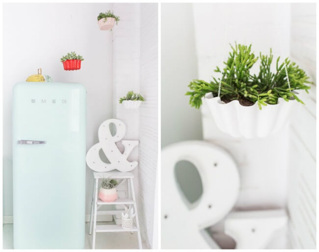 Ten Easy Ways to Design Your Own Kitchen in Less Than an Hour, flowerpots
