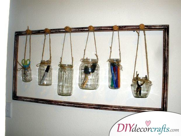 10 Amazing DIY Dorm Room Ideas To Spice Things Up Next Semester, Supply Holders