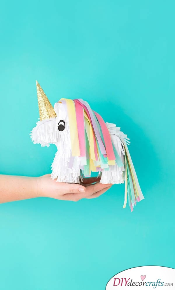 Unicorn Pinata - DIY Unicorn