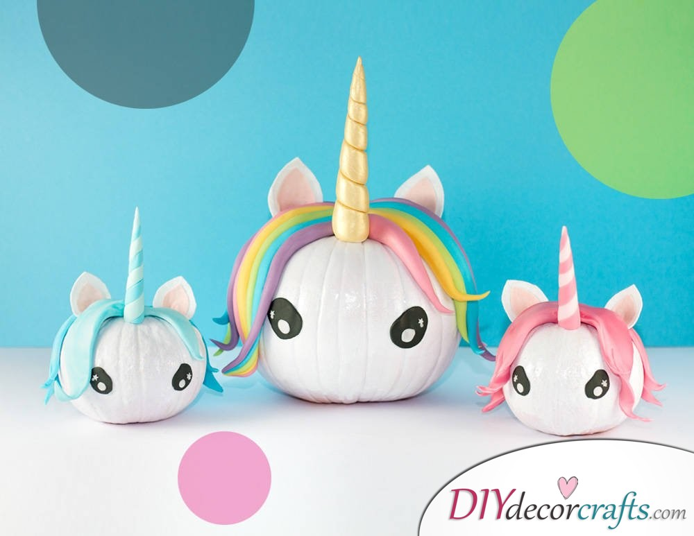 Unicorn Pumpkin - DIY Unicorn