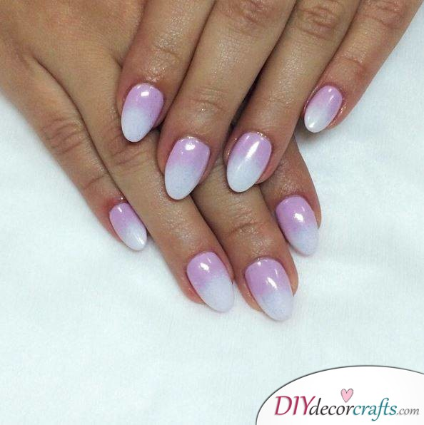 10 Best Nail Designs For A Date Night, Levander Fade