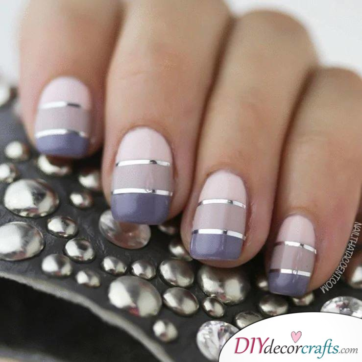 10 Best Nail Designs For A Date Night, Monocrhomatic Knockout Ombre