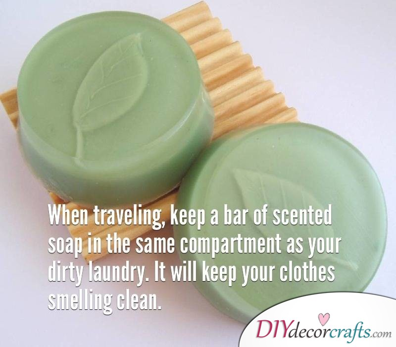 10 Everyday Life Hacks That Will Change Your Life, Nice Smelling Dirty Laundry