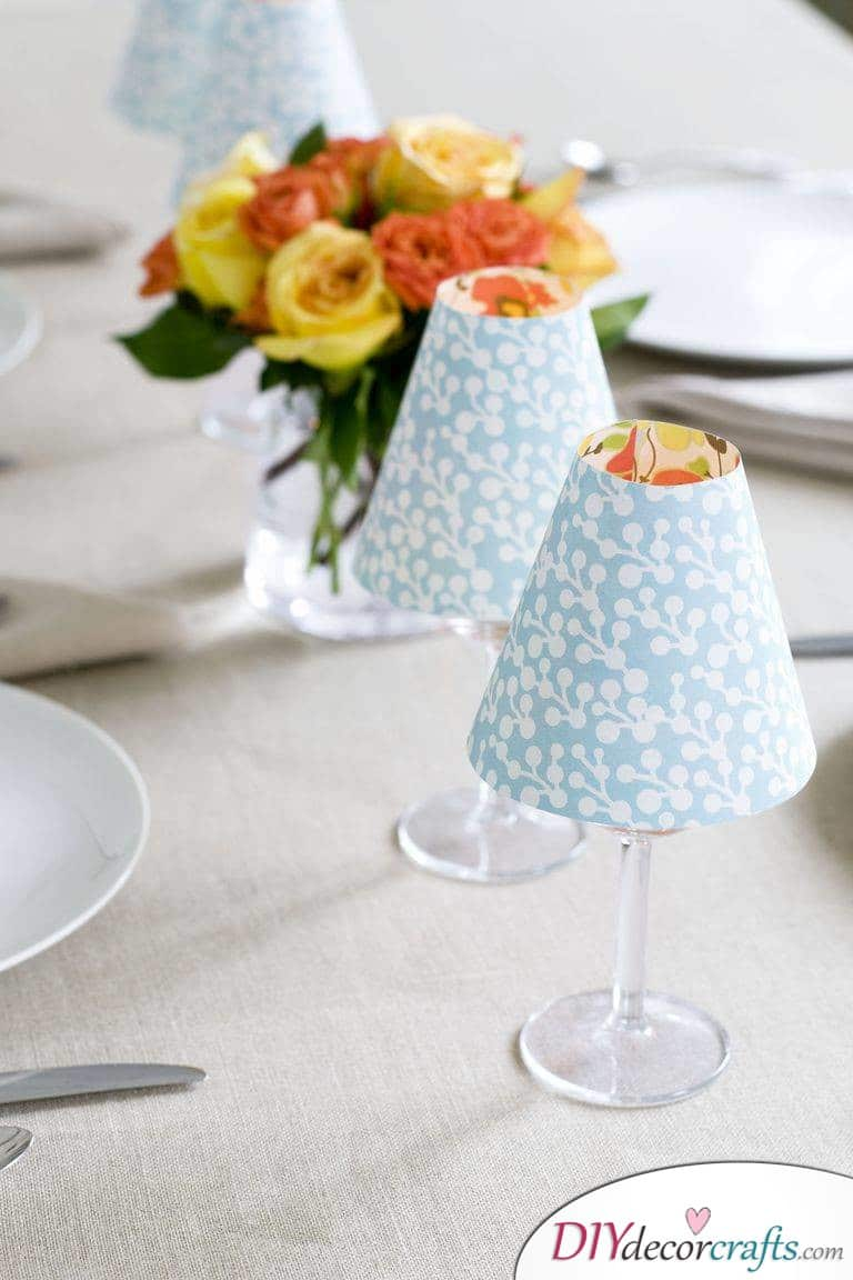 10 Simple DIY Home Decor Ideas, Candle Lampshade