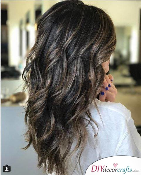 12 Fall Hair Color Ideas To Spice Things Up, Brunette And Bronde Babylights