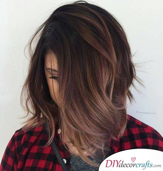 12 Fall Hair Color Ideas To Spice Things Up, Chocolate Lovers' Color Formula