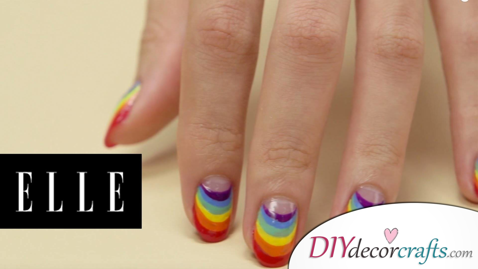 15 Trendy And Amazing Nail Designs Perfect For The Summer, Pride Rainbow