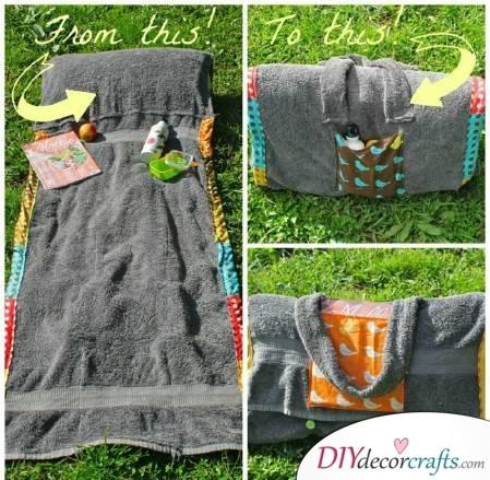 7 Essential Summer Life Hacks Everyone Should Know, Beach Bag Towel Blanket