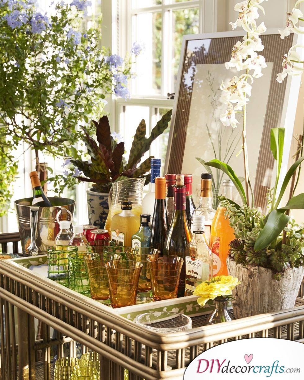 Renovate Your Home With These Simple Home Renovation Ideas, Refill Your Bar