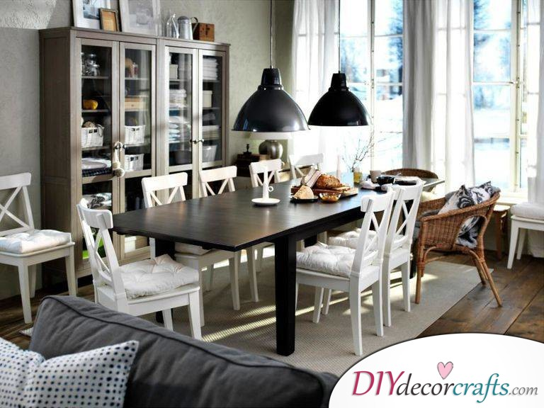 Renovate Your Home With These Simple Home Renovation Ideas, Place Furnitures On A Rug