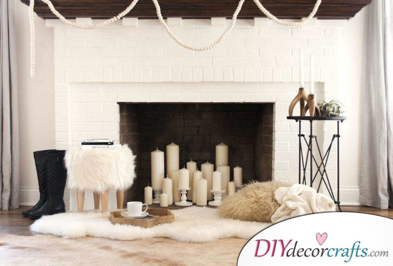 Renovate Your Home With These Simple Home Renovation Ideas, Fill Your Fireplace