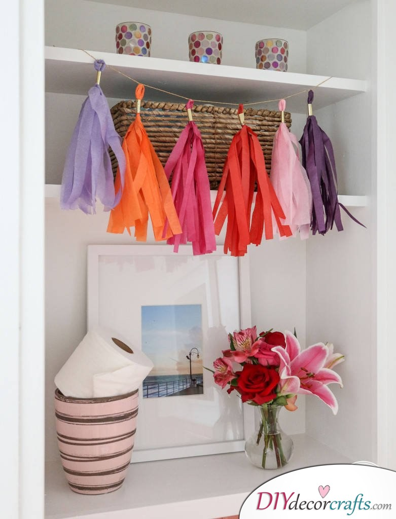Simple DIY Party Decor Ideas For Any Occasion, Tassel Grand