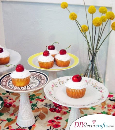 Simple DIY Party Decor Ideas For Any Occasion, Cake Stands
