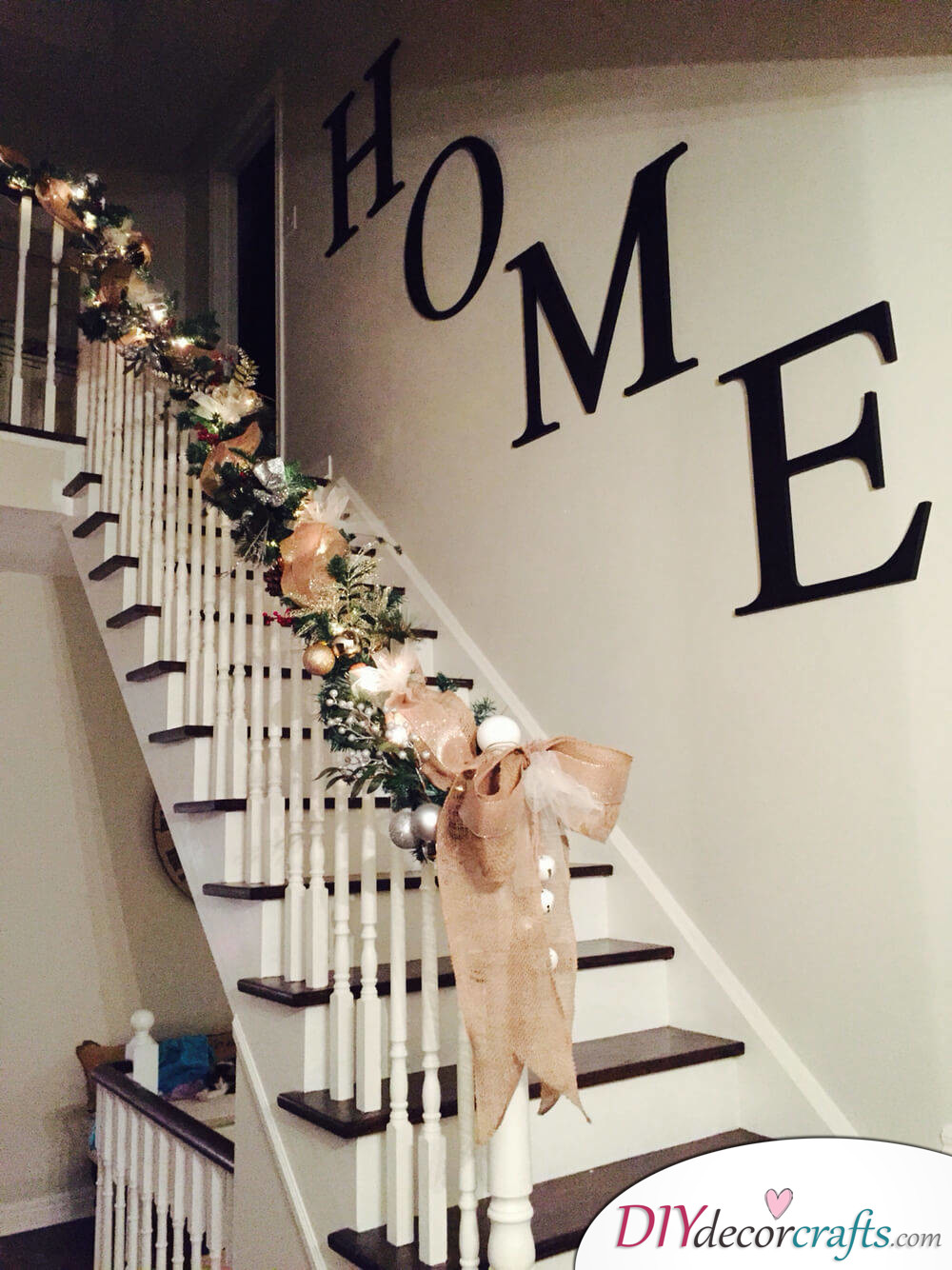 Simple Ways To Freshen Up Stairways, Simple HOME Design