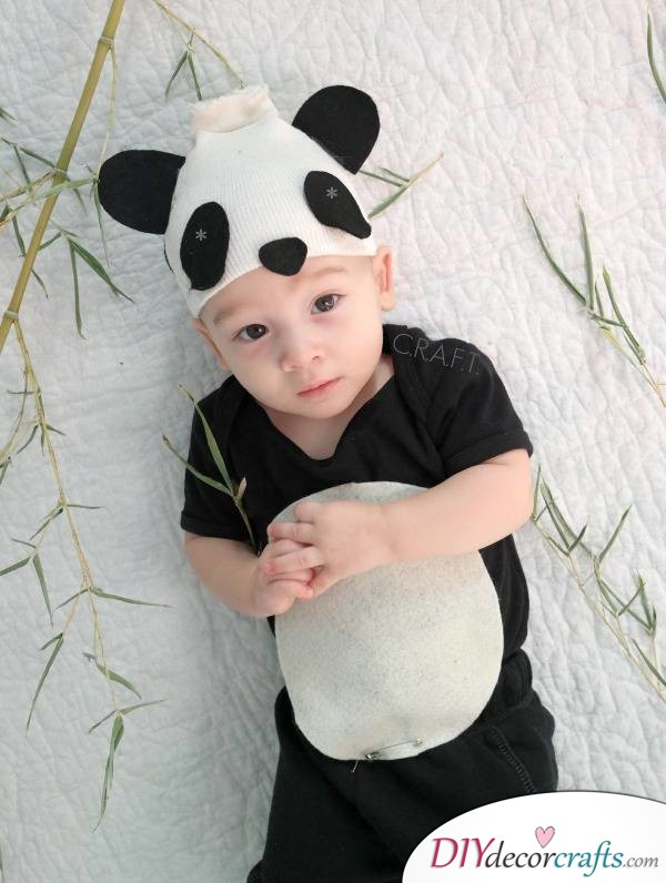The Best DIY Halloween Costume Ideas For Kids, Baby Panda