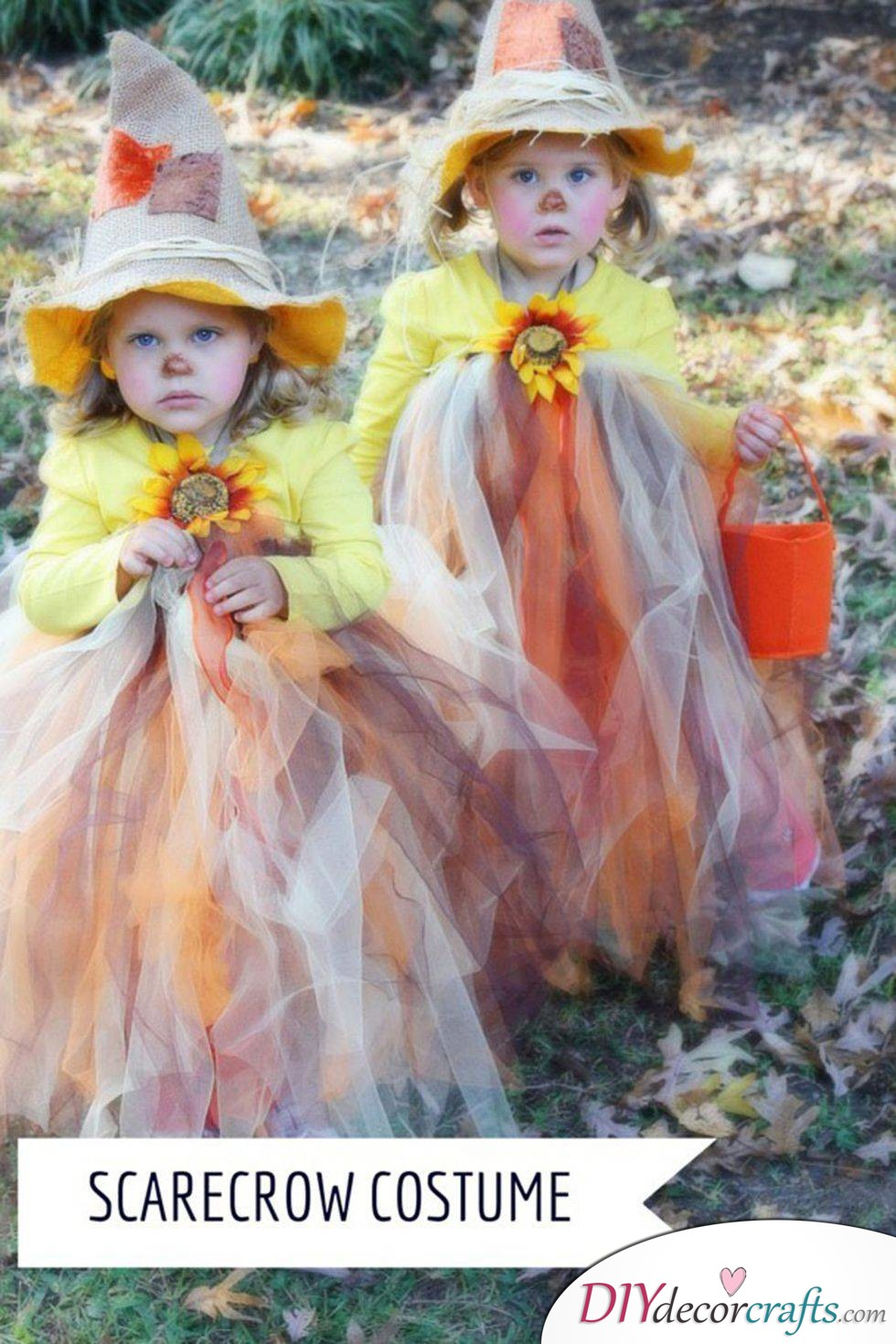 The Best DIY Halloween Costume Ideas For Kids, Scarecrow