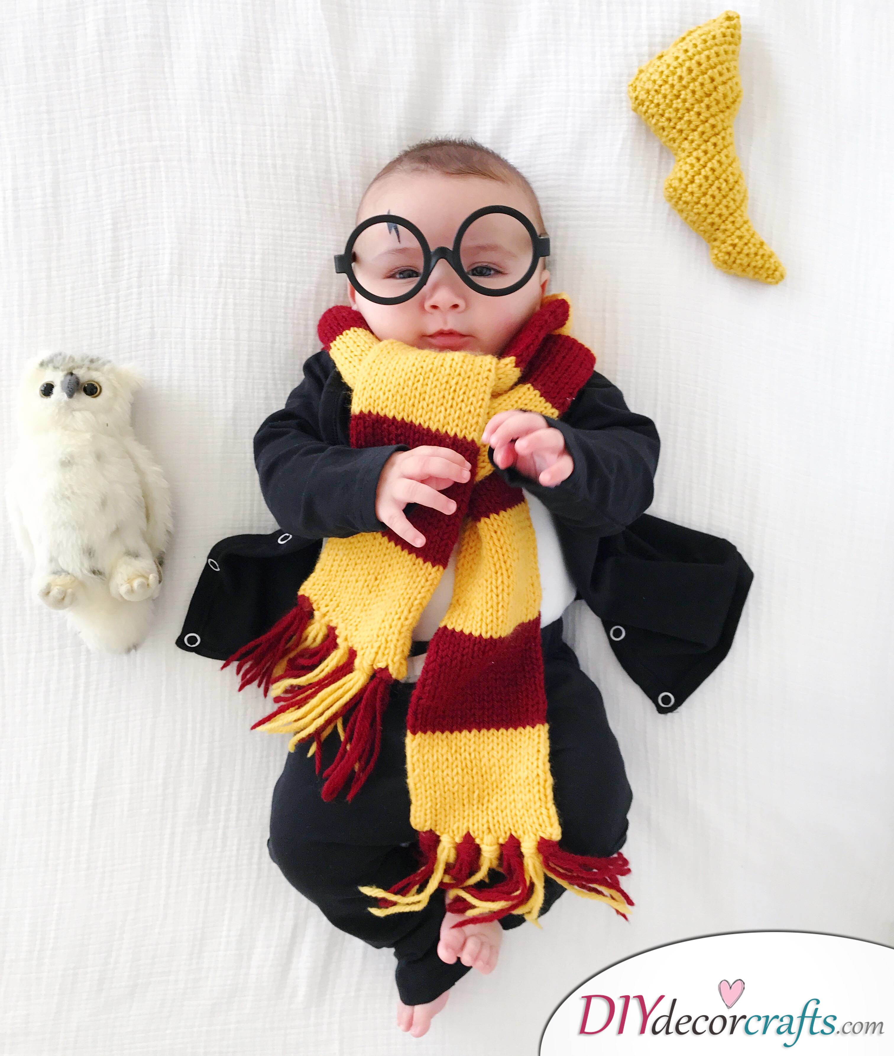 The Best DIY Halloween Costume Ideas For Kids, Baby Harry Potter