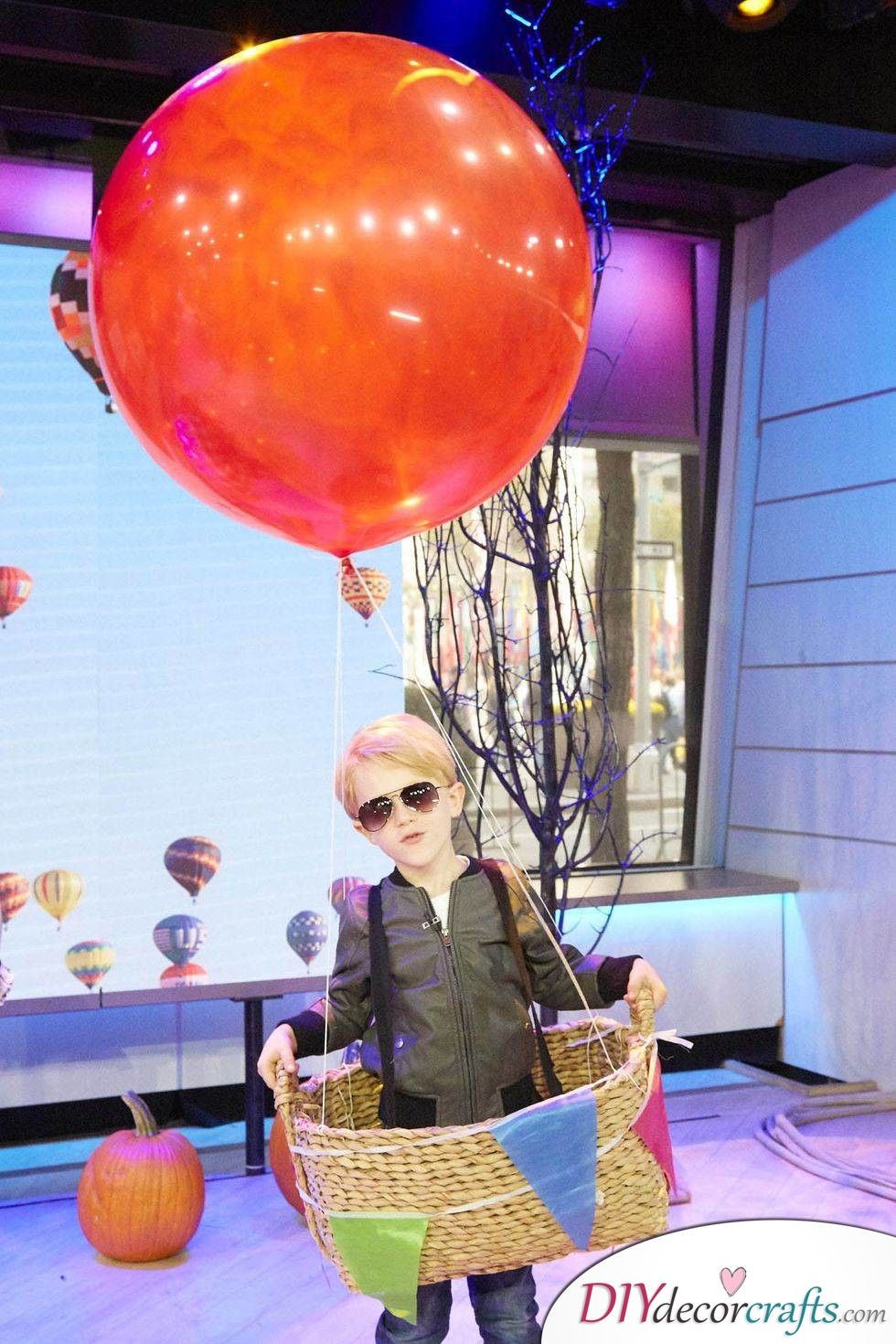 The Best DIY Halloween Costume Ideas For Kids, Hot Air Balloon Pilot