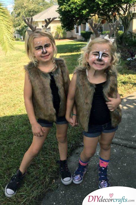 The Best DIY Halloween Costume Ideas For Kids, Deer
